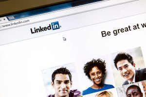 Linkedin webpage