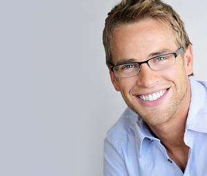 Guy wearing eye glasses