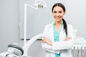 Dentist headshot